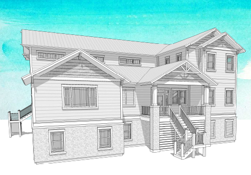 TIDEWATER RETREAT home plan to purchase