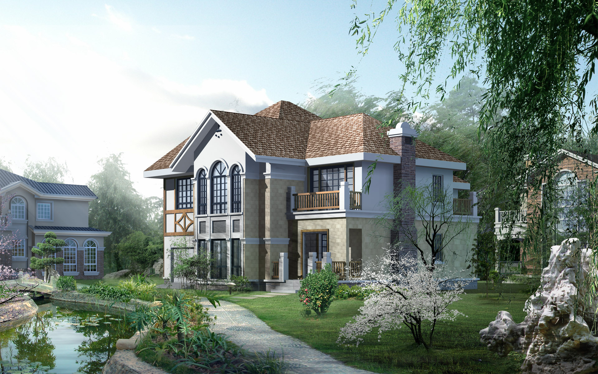 a_beautiful_3d_home